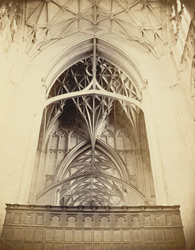 Gloucester Cathedral, The Hanging Arches